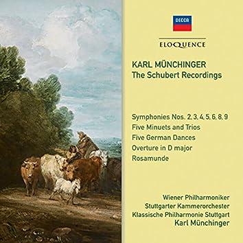 Karl Munchinger: The Schubert Recordings