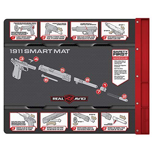 """Real Avid 1911 Smart Mat - 19x16"""", 1911 Gun Cleaning Mat, 1911 Graphics"""