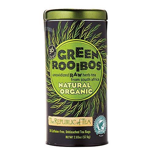 REPUBLIC OF TEA Tea Raw Green Bush Natural, 36 CT