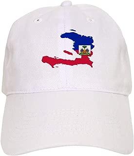 Haiti Flag and Map Baseball Cap