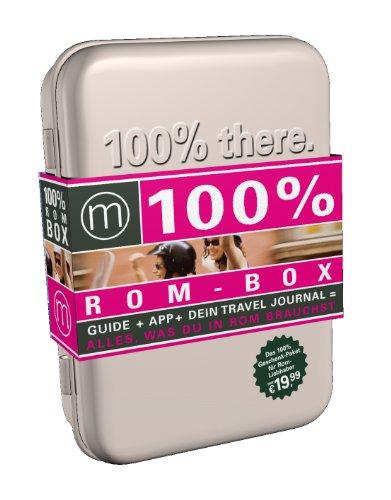100% Cityguide Rom Geschenkbox: Enthält 100% Cityguide Rom inkl. App, 100% Travel Journal, 3 Rom Postkarten