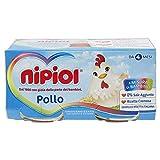 Nipiol Omogeneizzato Carne, Pollo - 24 Vasetti da 80 gr
