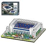 YIGE Bloques de construcción modular, estadio real de fútbol de Madrid arquitectura, modelo de bloques de construcción, famoso modelismo, 4030 piezas, regalo para niños y adultos