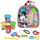 Disney - Plastilina infantil 4 Botes Plastilina Niños 3 años con moldes 2D y accesorios Plastilina...