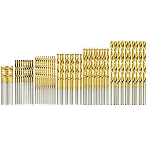 Brocas Helicoidales 60 Piezas 1, 1.5, 2, 2.5, 3, 3.5mm Juego