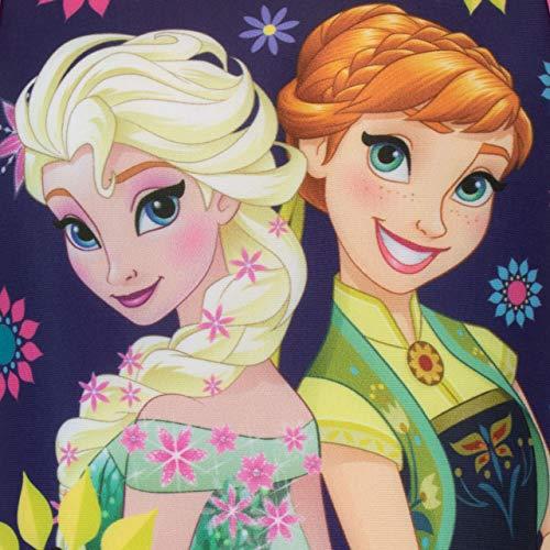 Disney Costume da Bagno per Ragazze Frozen Blu 8-9 Anni