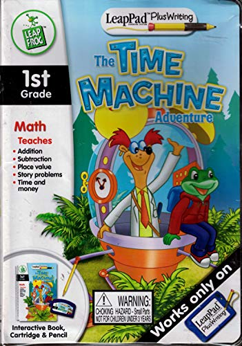 Math LeapPad The Time Machine Adventure Leap Frog Leap Pad Plus Writing