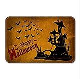 Miedo A Halloween Felpudo,No-felpudos Slip Halloween Calabazas...