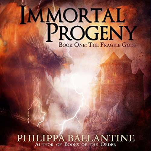 Immortal Progeny audiobook cover art