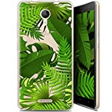 Ultra Thin Shell Case for Wiko Jerry 2 Tropical Plants