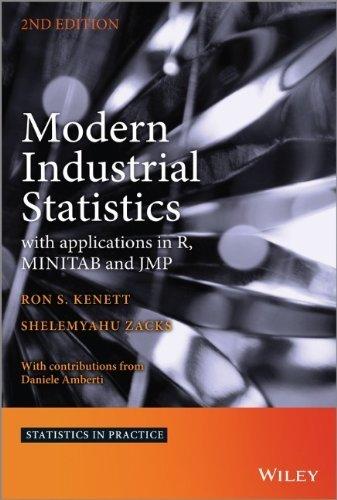 Modern Industrial Statistics: with Applications in R, MINITAB and JMP (Statistics in Practice) by Ron Kenett (24-Jan-2014) Hardcover
