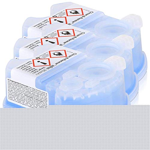 NEW BRAUN CCR3 CLEAN & RENEW SHAVER CLEANING REFILLS CARTRIDGES PACK OF 3 by OnlineDiscountStore