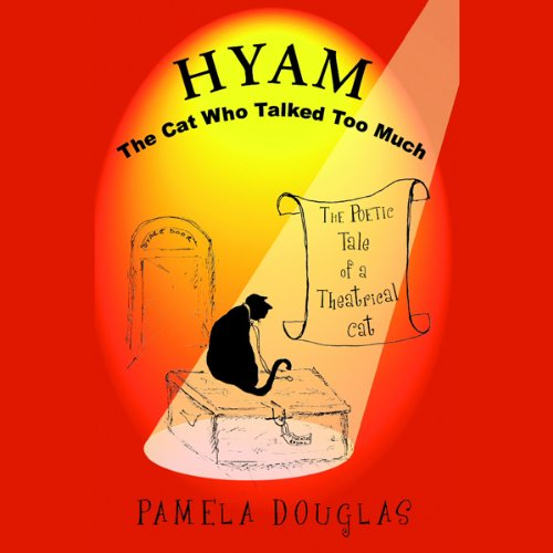 Hyam the Cat Who Talked Too Much audiobook cover art