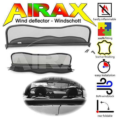Airax Windschott für Colt CZC Cabriolet Windabweiser Windscherm Windstop Wind deflector déflecteur de vent
