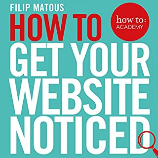 How to Get Your Website Noticed cover art