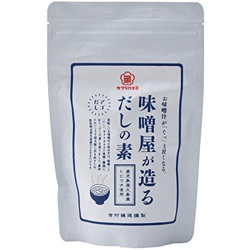 吉村醸造サクラカネヨ 味噌屋が造る出汁の素 120g