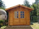 Casita de madera de jardín dekalux 2,5x 2,5