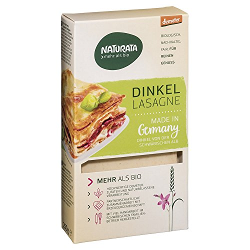 Naturata Dinkel-Lasagne-Platten (250 g) - Bio