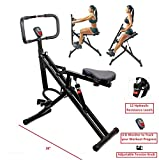 TOTAL CRUNCH Power Rider Ab Core Squat Glute Exercise Workout Machine Abdominal Crunch Cardio...