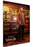 Instabuy Poster - Locandina - Film - Knives out - Chris Evans A3 42x30