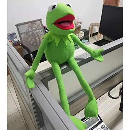 ZHQIC Sesame Street Muppet Komi Rana Peluche Juguete 40 cm / 15.7 Pulgadas Regalos de niños Regalos de cumpleaños para los niños
