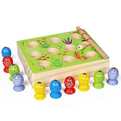 JW-YZWJ Baby Angeln Spielzeug kleine Kinder Magnetpuzzle Jungen-Kind-Mädchen-1-2-3-6 Jahre alt Geschenk