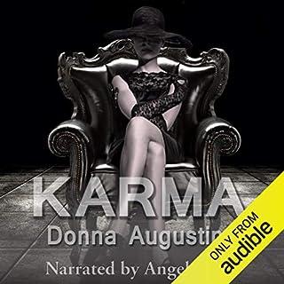 Karma audiobook cover art