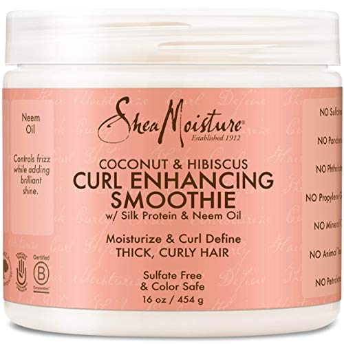 Shea Moisture Coconut & Hibiscus Curl Enhancing Smoothie 16 Ounce Family Size