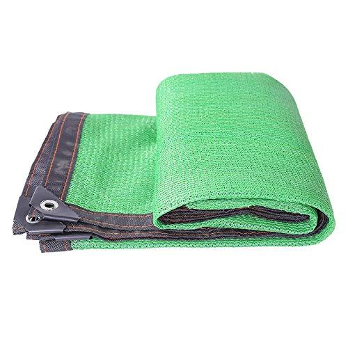 LRZLZY Pantalla de Tela Planta de Sombra Neto de Efecto Invernadero Sombra SunscreenMoisturizing instalaciones al Aire Libre, 22 Tamaños Respetuoso del Medio Ambiente (Color : Green, Size : 4X5M)