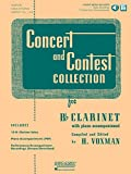 Concert and Contest Collection for Bb Clarinet: Solo Book with Online Media (Rubank Educational Library)