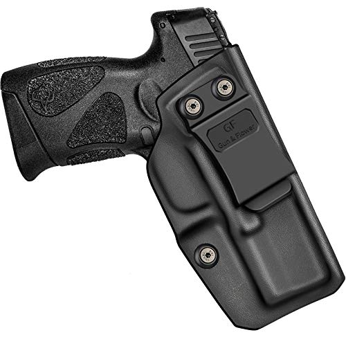 Taurus G2C Holsters, KYDEX IWB Holster for Taurus G2C & Millennium G2 PT111 / PT140 Holster, Concealed Carry Holster, Durable KYDEX, Inside Waistband Holster, Adjustable Retention and Cant, Right Hand