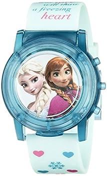 Disney Kids  FZN3821SR Digital Display Analog Quartz Blue Watch