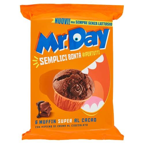 Mr. Day Muffin al Cacao con ripieno al cioccolato - 300 g