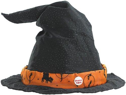 infactory Chapeau de Sorcière Maléfique