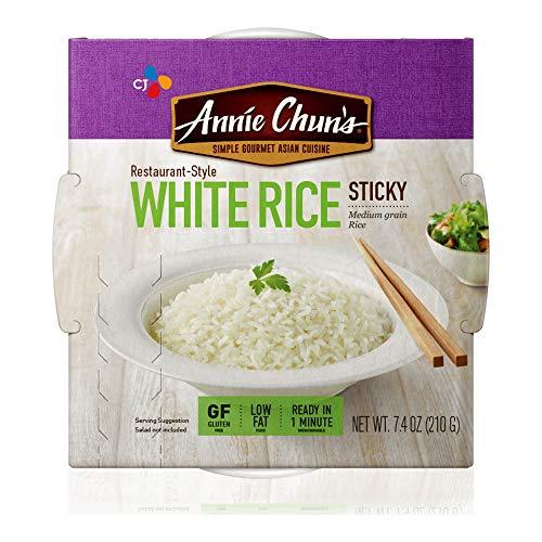Annie Chun's Cooked White Sticky Rice, Gluten-Free,...