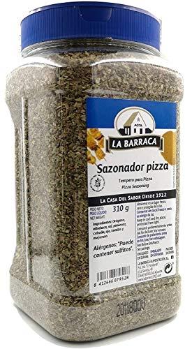 Condimento per pizza - Miscela speciale di spezie per pasta per pizza - LA BARRACA - Pentola da 310 grammi8412666079511