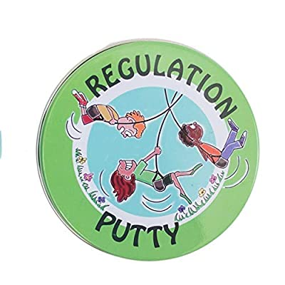 Fun and Function's Discovery Putty for Children - Regulation Putty - for Occupational and Physical Therapy - Helps Kids Build Strength & Fine Motor Skills - Resistance Level Medium
