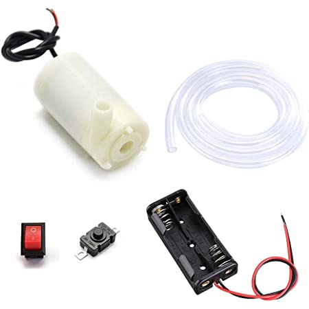 ART IFACT Submersible Mini Water Pump DC 3-6V Micro for DIY Projects kit (Submersible Pump kit)