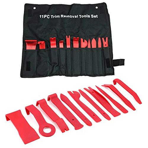 BMOT 11 Piezas de plástico para Desmontar el Interior del Coche Herramientas de Mano