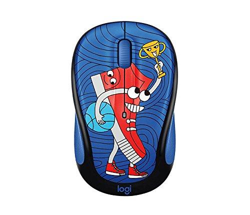 Logitech M325C Kids Wireless Mouse  Doodle Collection  Sneakerhead