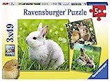 Ravensburger- Puzzle 3x49, Multicolor (1)