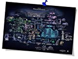 Hollow Knight Poster Hollow Knight Map...