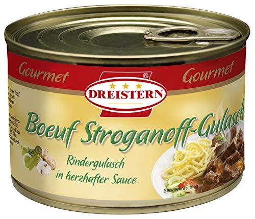 DREISTERN Boeuf-Stroganoff-Gulasch, Boeuf Stroganoff, 400 gramm