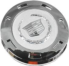 Carsore New 1PCS of Cadillac Wheel Center Caps Emblem, 22 Inch Silver Logo Center Hub Caps for 07-14 Cadillac Escalade/Escalade ESV/Escalade EXT