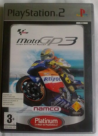 Moto Gp3 Platinum-(Ps2)