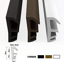 4,9/m Sakuyv sans cadre Joint en silicone m/ét/éo de d/écapage de porte fen/être Sweep adh/ésif