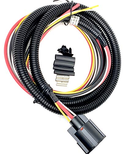 NEW Equivalent replacement 8 Foot Pigtail Harness for WPT-1361 WPT-935 PT2530 13574939 and SBL-YAZ-PT10 for SPAL Fans