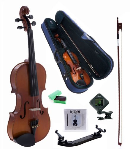 D'Luca CAD01 Orchestral Series Violin Outfit - 1/8