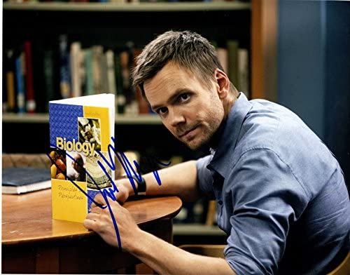 Joel McHale Autographed Signed 11x14 The Special price for a limited time Soup UACC Photo AFTAL R 55% OFF