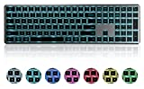 Best Backlit Keyboards - Backlit Bluetooth Keyboard, seenda Illuminated Multi-Device Slim Rechargeable Review